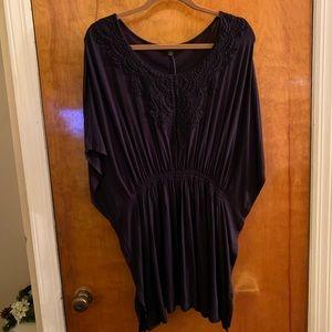 Lane Bryant Poncho blouse